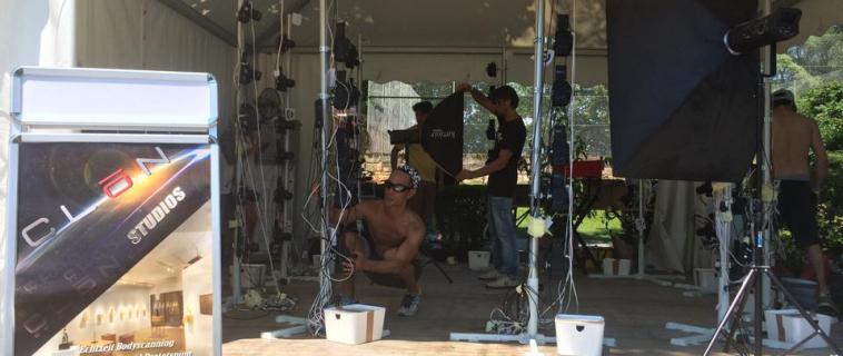 Clonstudios auf dem World Bodypainting Festival 2015