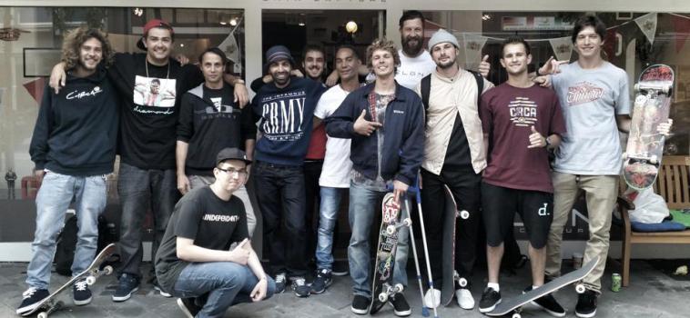 Die besten deutschen Skater zu Gast bei Clon!